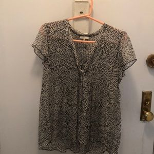 Joie silk top small